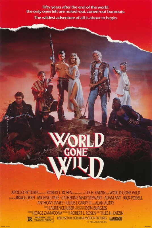 Свихнувшийся мир / World Gone Wild (1988) SATRip